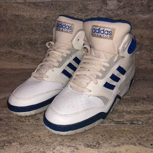 Rare Vintage 80s Adidas Phantom High Top White